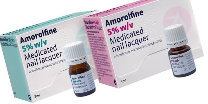 Аморолфин от грибка ногтей отзывы цена аналоги