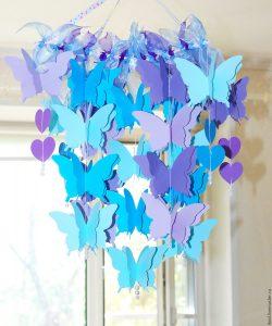 Мобиль бабочки