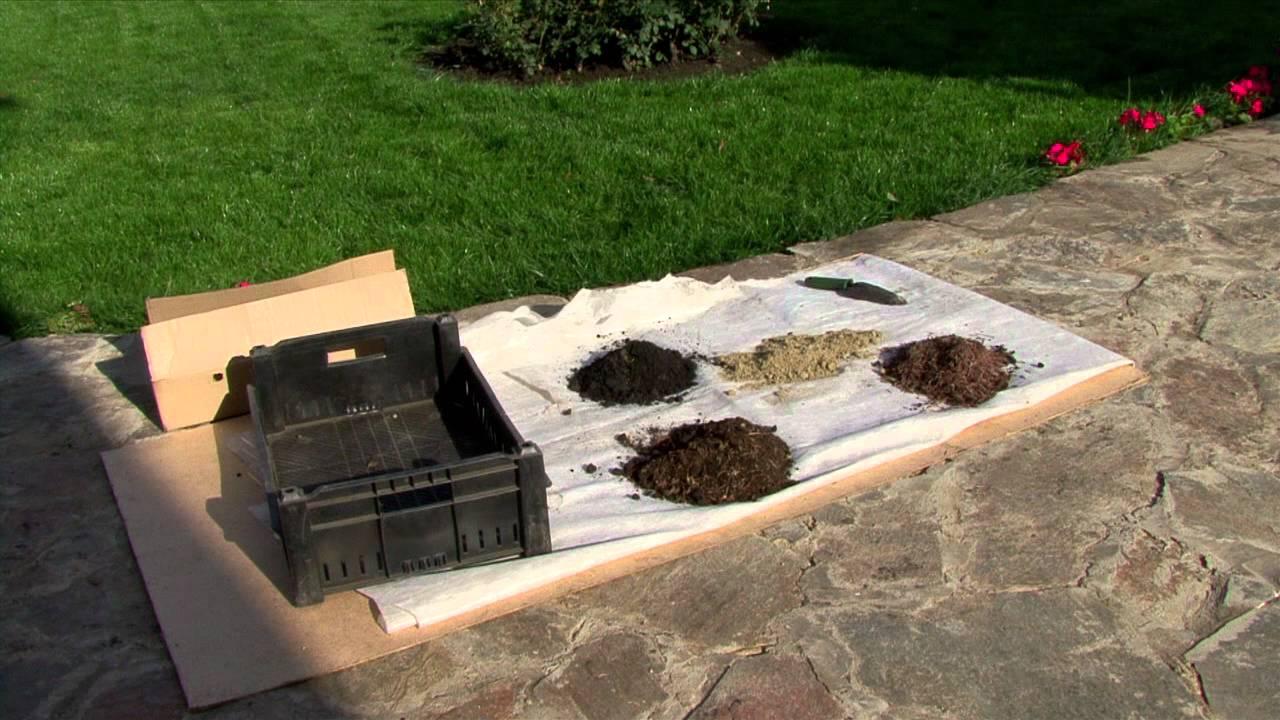 Подготовка почвы для герани