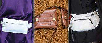 Как называются женские сумки на пояс