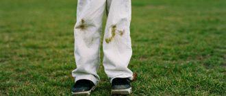 как отстирать пятна от травы с джинсов