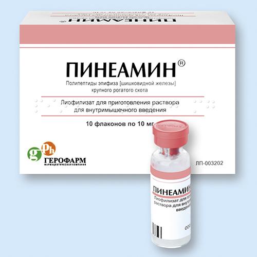 Препарат Пинеамин