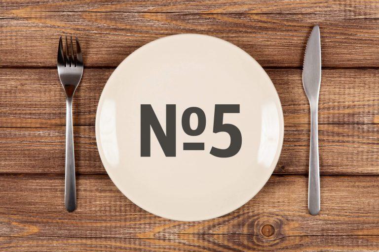 Диета Номер 5 Доктора. Что нужно знать о диете №5