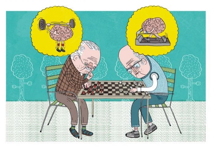 развит полушария мозга